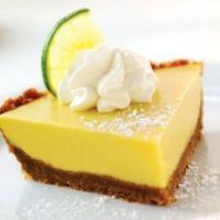 Genuine Florida Key Lime Pie....Love, love, love Key Lime pie!