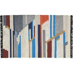 building blocks rug 5'x8'  | CB2