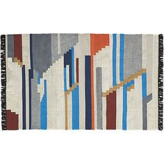 building blocks rug  5'x 8' - $299 (less 15% is $254.15) - under dining table