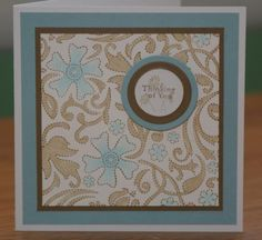Simple Stitched Floral by mayodino - Cards and Paper Crafts at Splitcoaststampers
