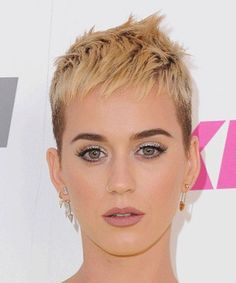 Stunning Short Edgy Haircuts for Women – Katy Perry