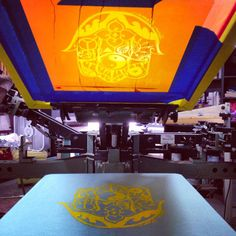 Do you know what screen-printing is? A little behind the scenes of Brittny printing her hamsa design for her soulful apparel company | Twin Flame. Brittny does it all ALONE! Click this image to see how you can get involved!
