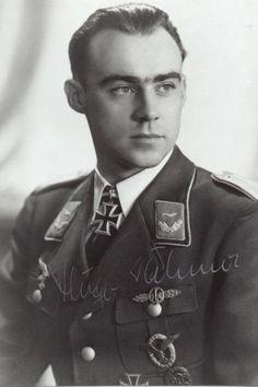 "Portrait du ""Leutnant"" Hugo Dahmer."