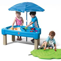 Product Image for Step 2 Standard Item Cascading Cove Water Table W/umbrella 2 out of 5