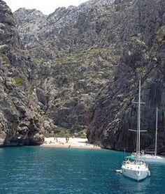 Sa Calobra beach, Balearic Islands, Spain