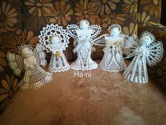 Crochet Angels, Chrochet, Patterns, Knitting, Christmas Angel Ornaments, Angel Ornaments, Tejidos, Crochet Hooks, Block Prints