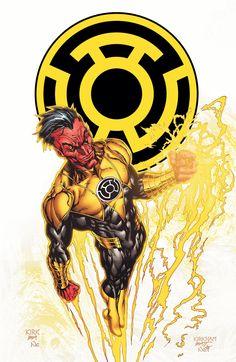 Green Lantern Corps #53 by Tyler Kirkham.