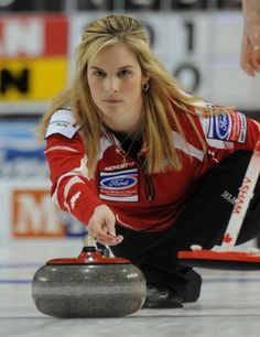 Learn more about Jennifer Jones and her gold-medal Olympic curling team. Olympic Curling, Athletic Scholarships, Jennifer Jones, Olympic Athletes, Cute Posts, World Of Sports, Sports Stars, Super Sport, Winter Olympics