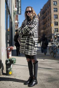 street style ニューヨークスナップ