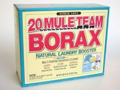 Borax can be used as a very effective homemade ant killer