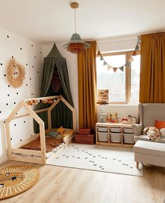 Kids Bedroom Designs, Baby Room Design, Childrens Room Decor, Baby Room Decor, Baby Boy Rooms, Little Girl Rooms, Baby Playroom, Home Interior, Room Inspiration