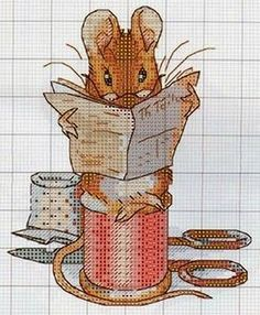 ♥ ♥ Korsstygns-Archive: For those of you who love Beatrix Potter and her wonderful world Beatrix Potter, Crochet Disney, Crochet Baby, Cross Stitching, Cross Stitch Embroidery, Embroidery Patterns, Cross Stitch Baby, Cross Stitch Animals, Cross Stitch Designs