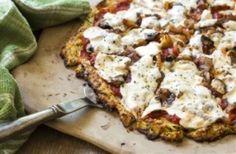 Córdoba Nutrición - Pizza con masa de zucchini