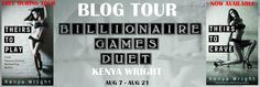 ♥Enter the #giveaway for a chance to win a $25 GC♥ StarAngels' Reviews: Blog Tour/Review ♥ Billionaire Games Duet by Kenya...