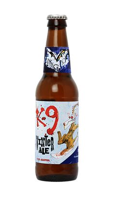 Flying Dog Brewery: K-9 Winter Ale (7.4% ABV)  Bought a bottle for 99 cents as it's out of season.  This is Flying Dog's stab at the English style.  Malty and definitely tastes like Xmas.  They change the blends every year, but definitely a decent winter brew. Prost!