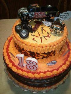 St Birthday Mechanic Cake