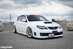Straight up sexy Subaru Impreza WRX STi
