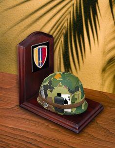 US Army Helmet Miniature BookEnd    Price: $23.00