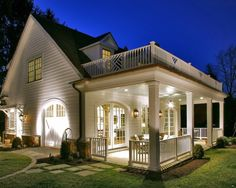 Beautiful covered porch design for endless entertainment space #home #remodel #kitchen #bathroom #dogoodwork www.jimhicks.com