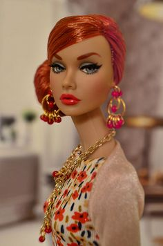Mood changers Poppy parker | Therese Myhr | Flickr Fashion Royalty Dolls, Fashion Dolls, Poppy Doll, That Poppy, Barbie Model, Barbie Hair, Poppy Parker, Doll Wardrobe, Barbie Fashionista
