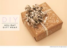 DIY Fest Holiday Wrap Party DIY Gift Wrapping DIY Crafts
