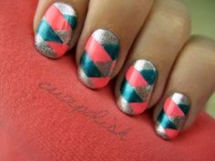 Braided Nails by cutepolish on youtube  @Nicole Byron tried something like this?
