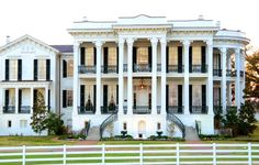 Stay at the Nottoway Plantation Bed N Breakfast and Resort in Louisiana