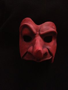 Commedia Dell'Arte Capitano Mask by HartMasks on Etsy, $60.00
