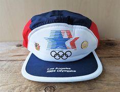 18afd39e6c4f8 Rare LOS ANGELES 1984 Olympics Vintage 5 Panel Snapback Hat 1984 Summer  Olympics