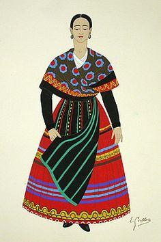 pattern lovely: spanish dress