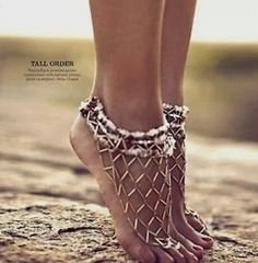 Beach sandals for sand walking.