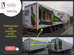 Polep kamiónov, branding vozidiel, car wrap