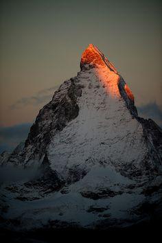 the north face of the matterhorn - zermatt, switzerland