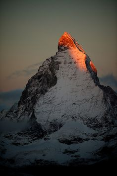 the north face of the matterhorn - zermatt, switzerland