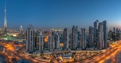 Photo Business Bay Pano by Dany Eid on 500px