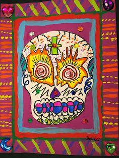 Dia De Los Muertos Art Project For Kids Mexico Day Of The Dead