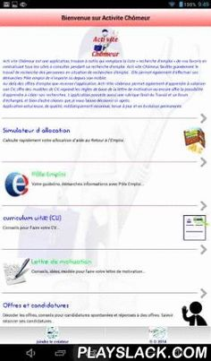 """Acti Quickly Unemployed  Android App - playslack.com , Unemployed Acti is a fast application toolkit for researchers working in France.Acti quickly Unemployed is an application, tool kit that replaces the """"job search"""" list of your favorite centralizing all sites to visit during his job search. Unemployed Acti quickly, greatly facilitates the research of people experiencing job searches .. It also allows its efforts employment center from anywhere on your mobile.Beyond Jobs that…"""