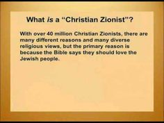 Why Christians Support Israel - Part 2