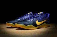 sports shoes e17a2 73e45 Nike Kobe 11 Lakers colorway Southern Drawl, Kobe 11, Nike Roshe Run,  Running