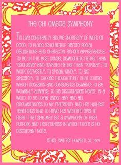 Symphony of Chi Omega