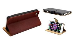 Buy Wallet Stand Case for iPhone 5 / 5S, 6 or 6 Plus - 3 Colours for just £2.99 Smarten up your smartphone with the Wallet Stand Case for iPhone      Ideal for Facetime, playing games or streaming content      Available in iPhone 5/5S, iPhone 6 or iPhone 6+      Crafted from luxury PU leather for an expensive and soft feel      Wallet flip design ensure for easy access while protecting the...