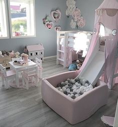 Kids Bedroom Ideas for Small Rooms You Should Try Now Toddler bedroom, big girl bedroom, little girl bedroom. Gallery wall library toysToddler bedroom, big girl bedroom, little girl bedroom. Big Girl Bedrooms, Little Girl Rooms, Childrens Bedrooms Girls, Princess Bedrooms, Little Girls Playroom, Children Playroom, Kid Playroom, Shared Bedrooms, Baby Bedroom