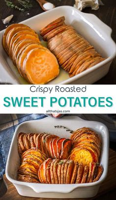Crispy Roasted Sweet Potatoes: Gluten-Free | All that's Jas