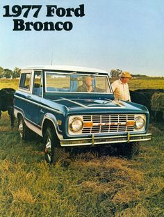 1977.Ford Bronco Ad