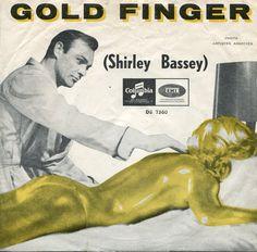 Music for James Bond, Goldfinger. Cd Cover Art, Lp Cover, Vinyl Cover, Lps, Greatest Album Covers, Shirley Bassey, Vinyl Cd, Detective, James Bond Movies