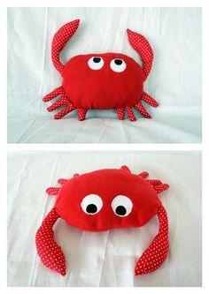 """Le crabe de mon tapis à histoire de """"Petit poisson blanc"""""""