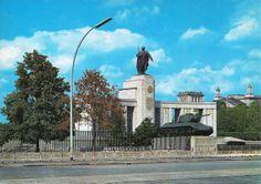 Soviet War Memorial, Treptower Park, East Berlin.