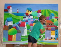 Iwona Lifsches, the artist