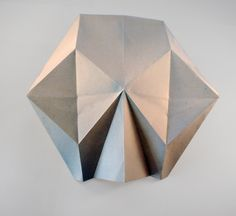 origami skull, original model by Tadeáš alias Paper monkey