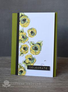 Lostinpaper - Altenew Painted Flowers -Celebrate